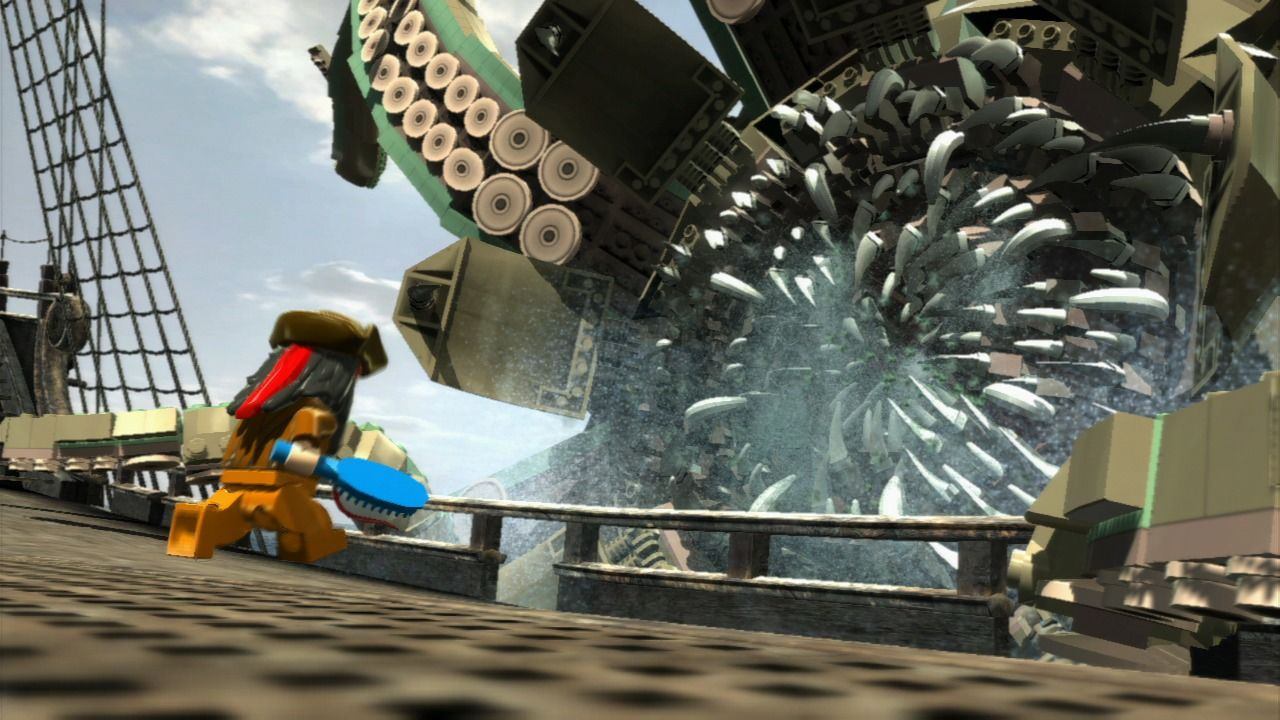LEGO Pirates of the Caribbean: The Video Game Screenshots ...