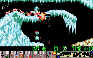 Xmas Lemmings DOS Where it all went horribly wrong....