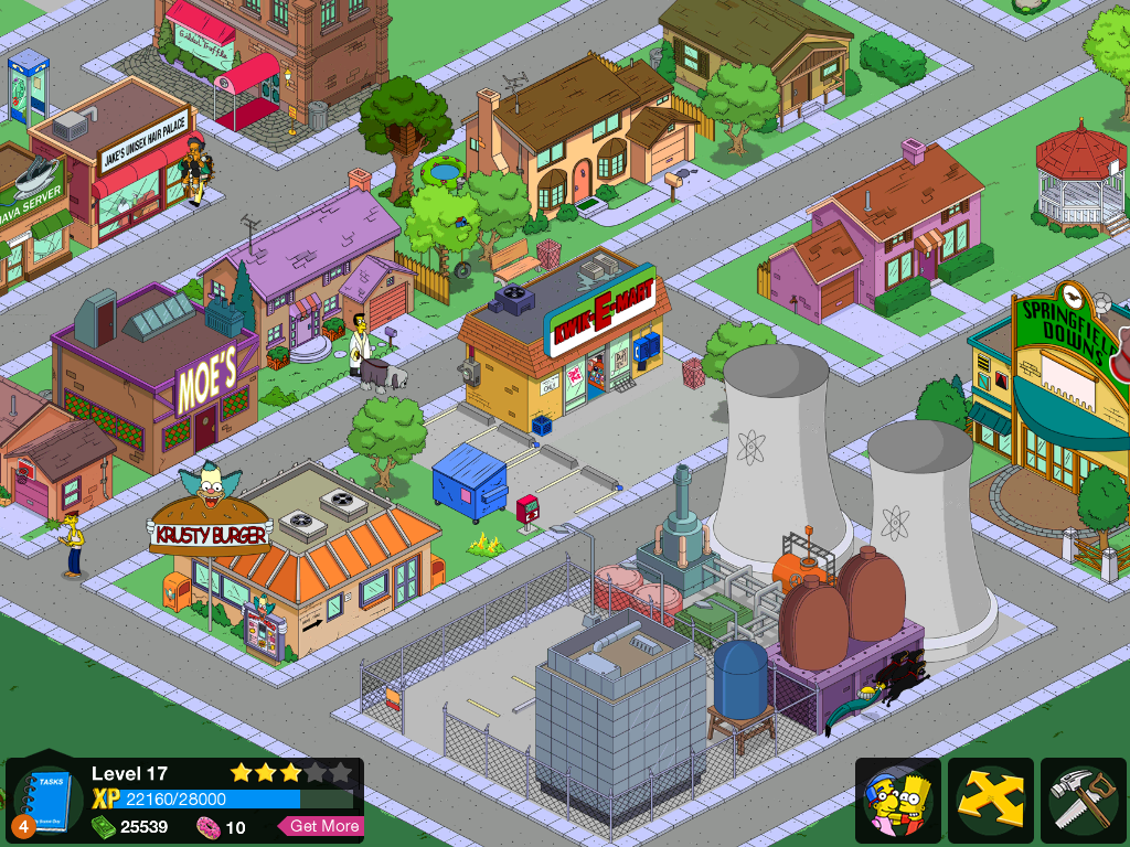 Simpsons Tapped Out Power Plant