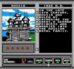 Where in Time Is Carmen Sandiego? NES Russia