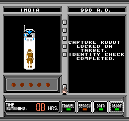 Where in Time Is Carmen Sandiego? NES A Capture Robot looking for the right person in the right place and time will always succeed.