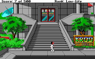 Leisure Suit Larry Goes Looking for Love (In Several Wrong Places) DOS KROD Television Studio