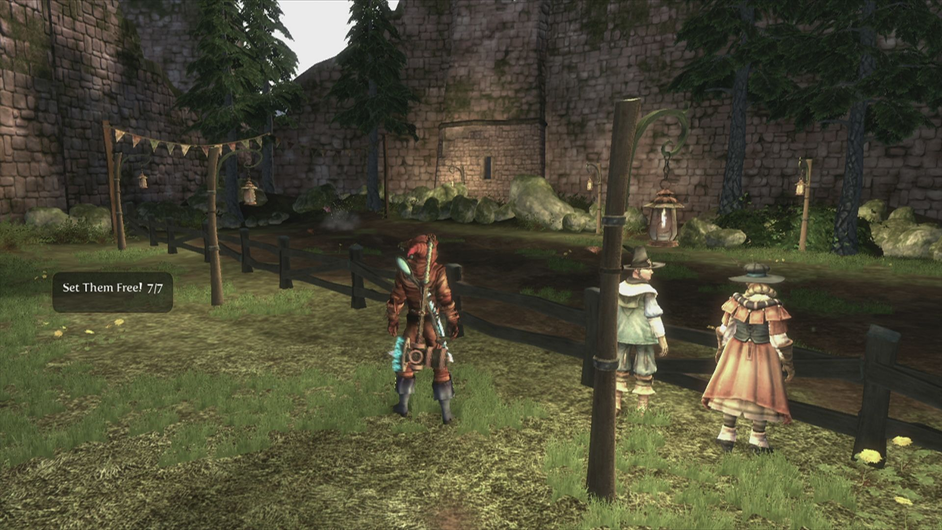 Fable III Xbox 360 Another mini game .. chicken run