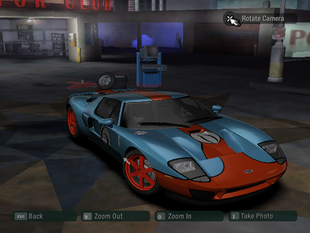 Need for Speed: Carbon Windows Showcase Mode - My trial to make a Ford GT-40 Race car