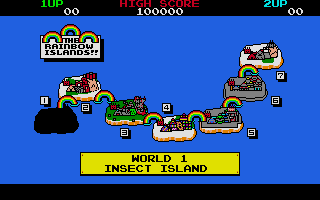 Rainbow Islands Atari ST The next level.