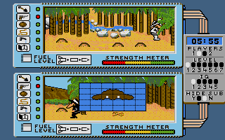 Spy vs. Spy: The Island Caper Atari ST Let's go.
