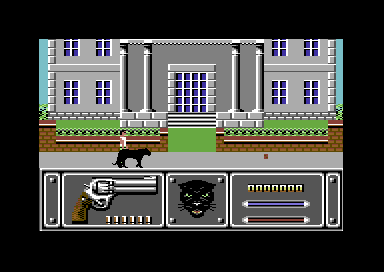 Wild Streets Commodore 64 Let's go.