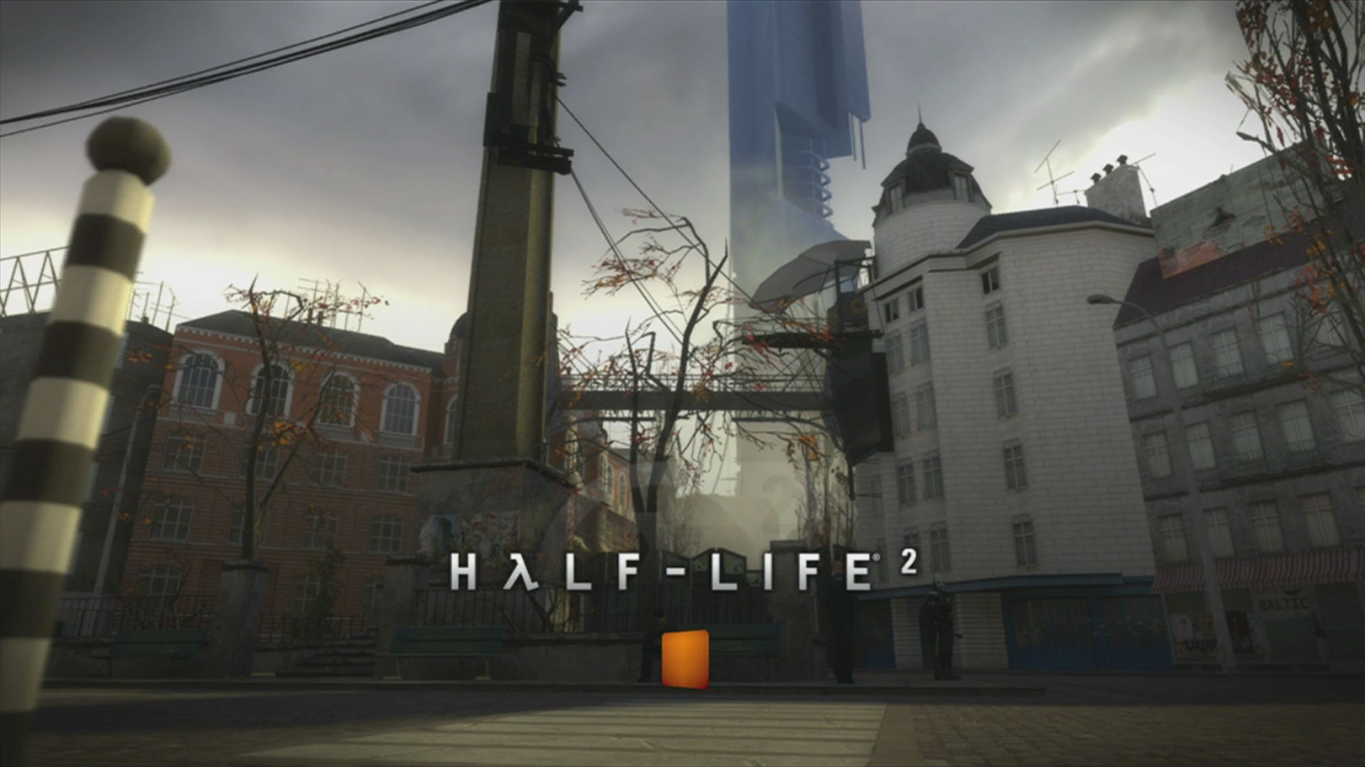 The Orange Box Xbox 360 <i>Half-Life 2</i> loading screen