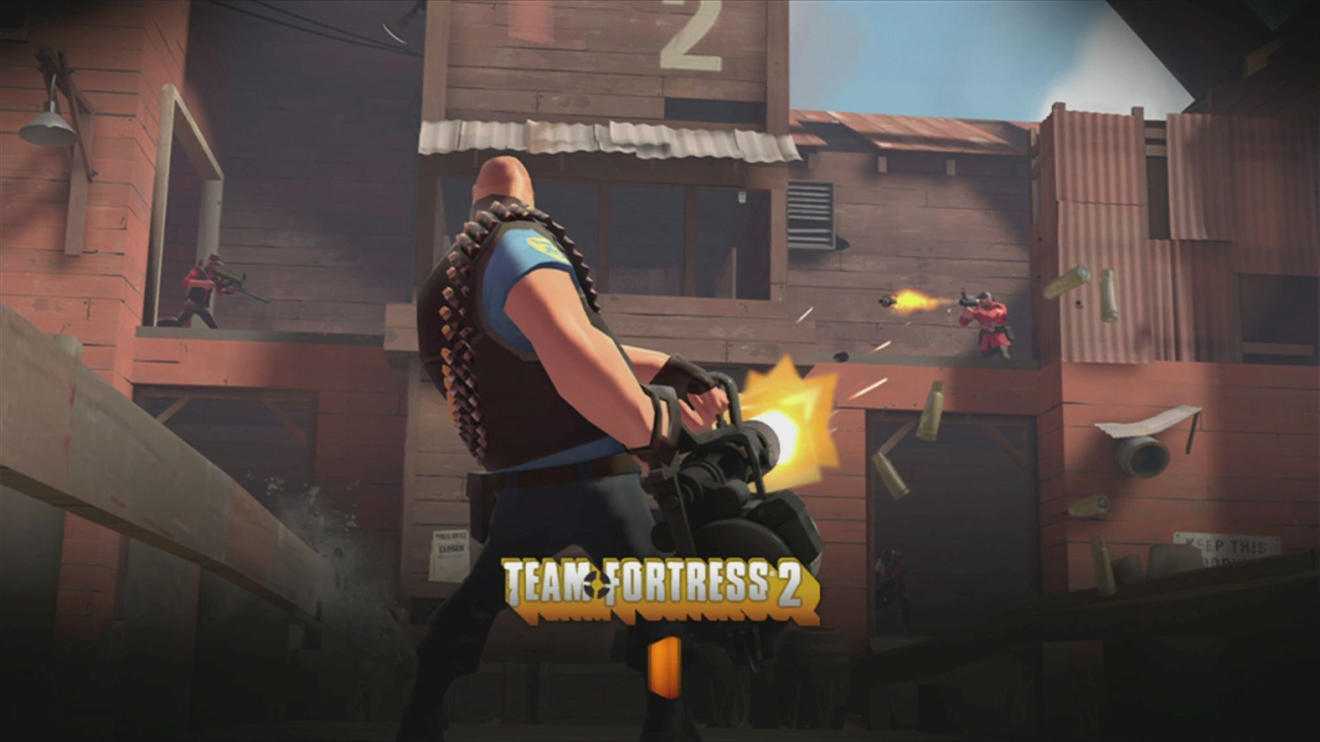 The Orange Box Xbox 360 <i>Team Fortress 2</i>: loading screen