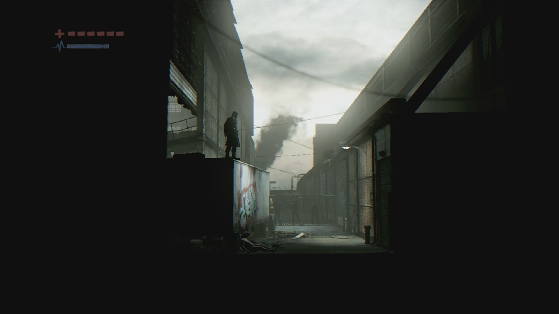Deadlight Xbox 360 Looks like the usual back alley ... or does it?