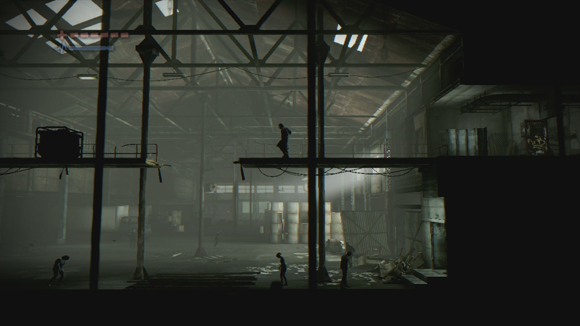 Deadlight Xbox 360 Since you have no weapon in the beginning, it is best to avoid the shadows below