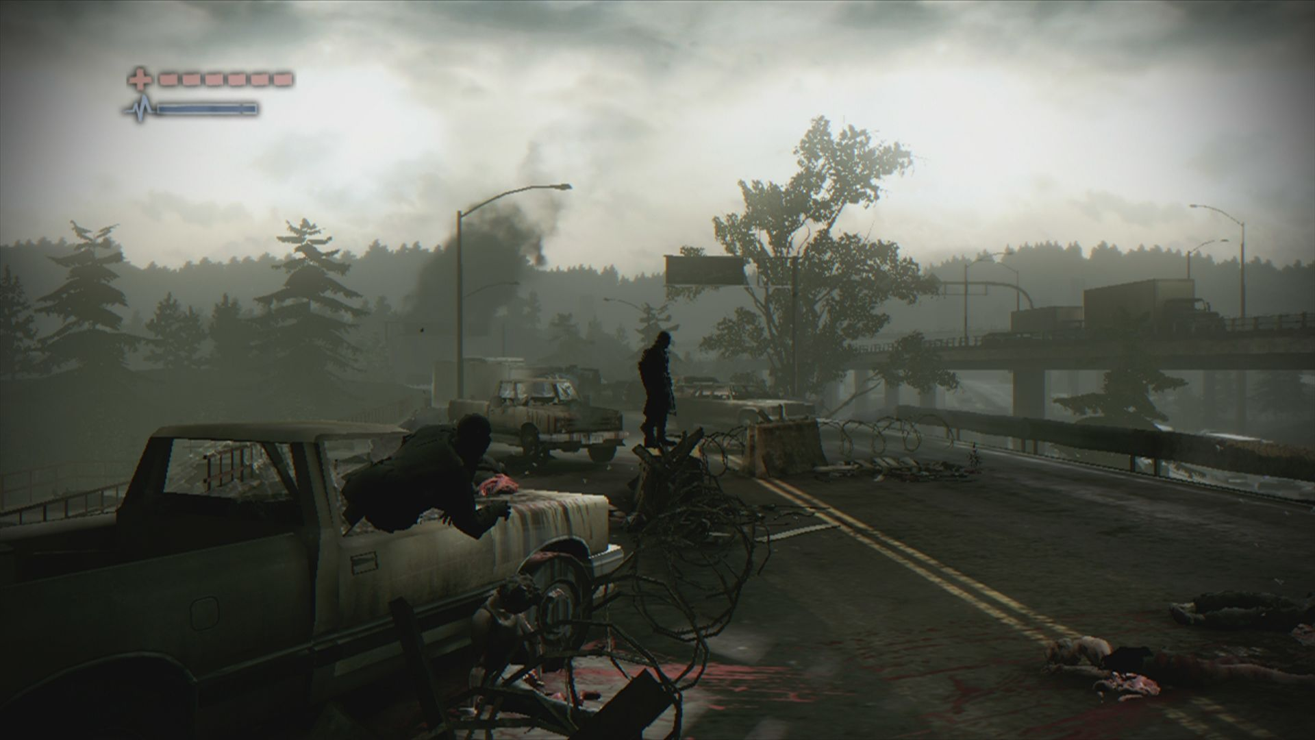 Deadlight Xbox 360 There is always something happening onscreen, even if it does not involve your gameplay