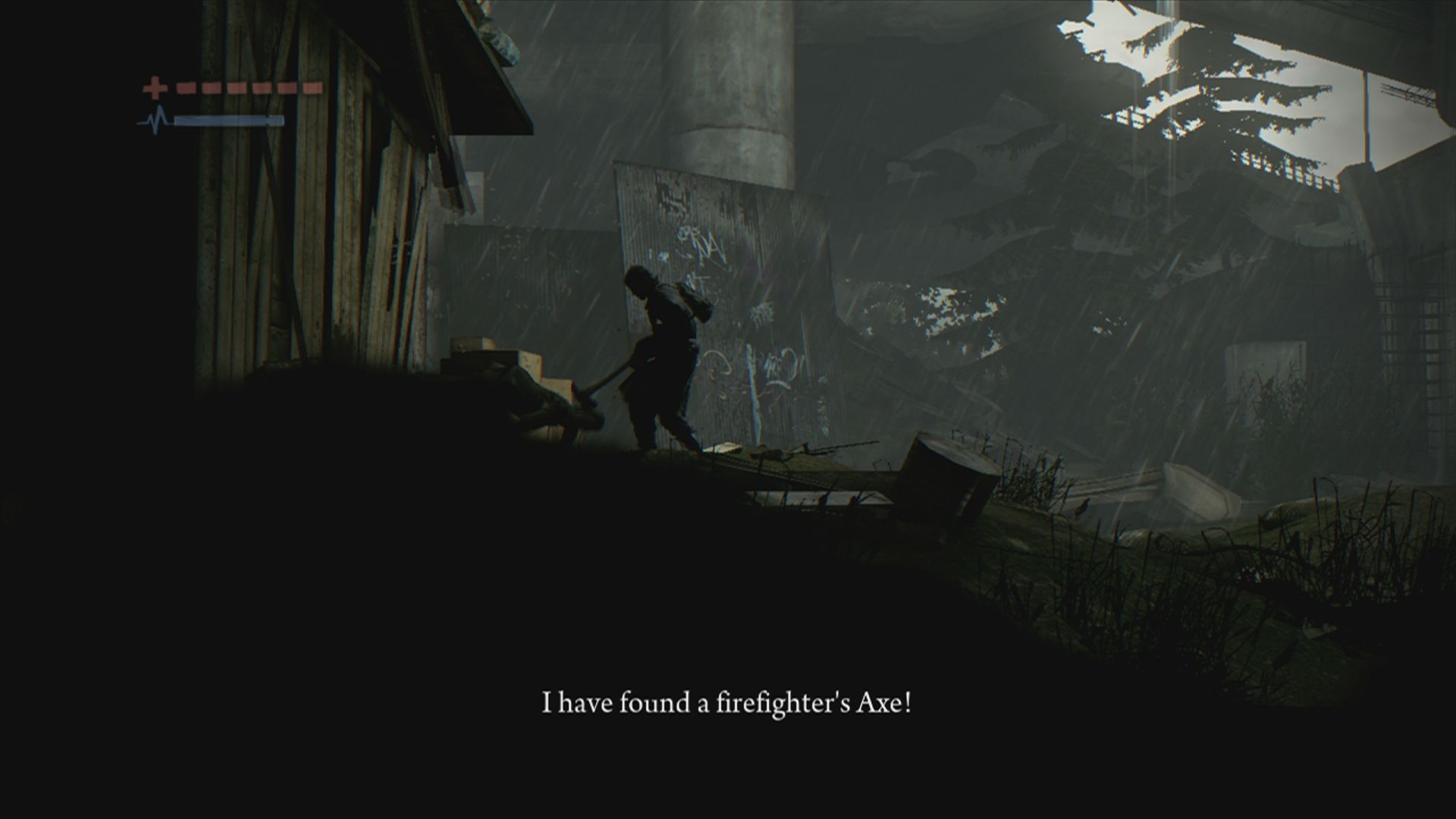 Deadlight Xbox 360 Finally a weapon.