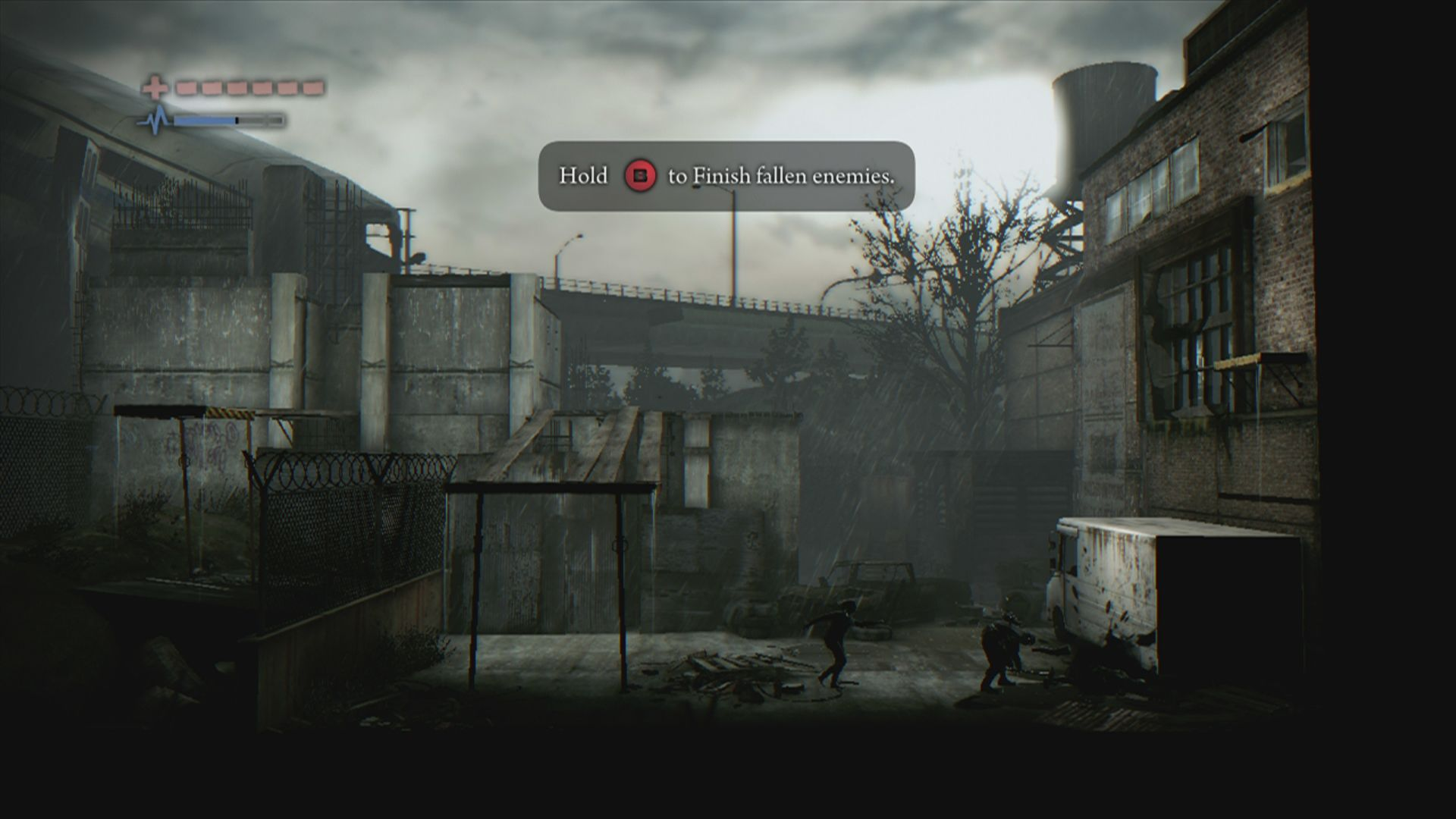 Deadlight Xbox 360 Despite having weapons, combat is seldom and most of the time best avoided