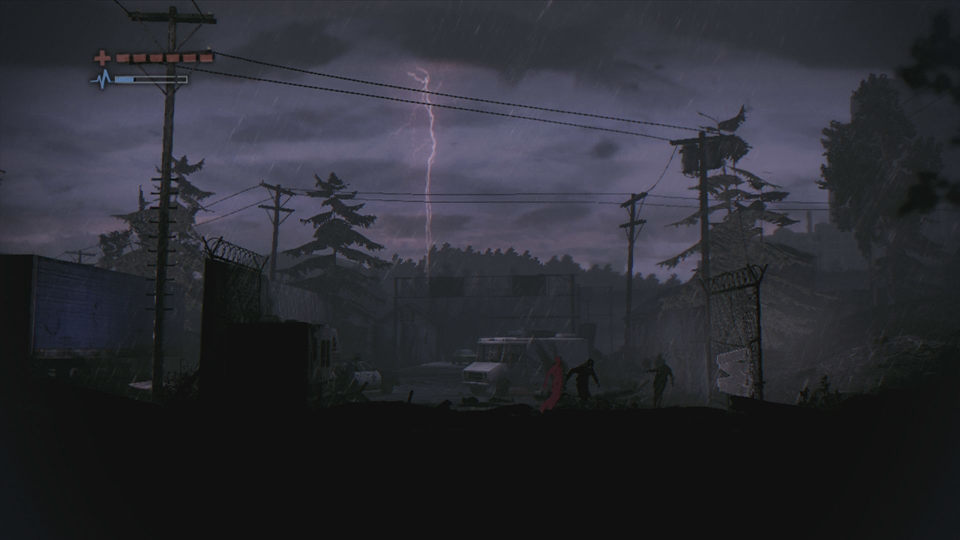 Deadlight Xbox 360 Lightning strikes