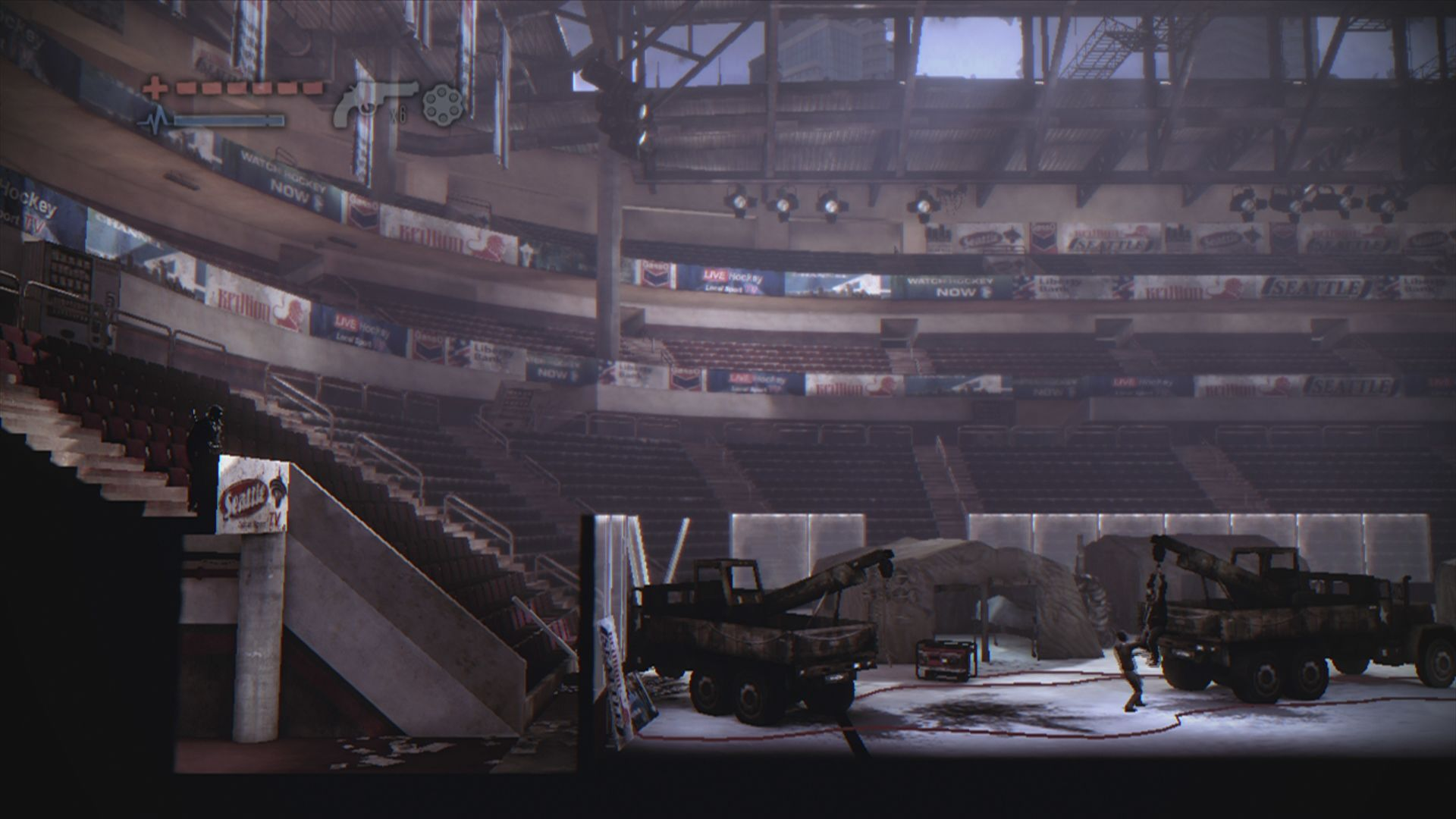 Deadlight Xbox 360 In quiet times, this was the local NHL stadium