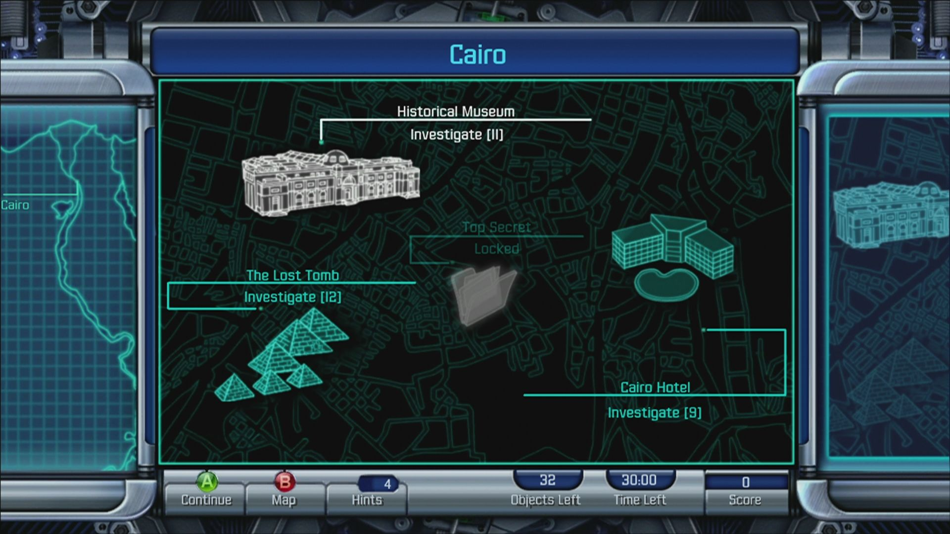 Interpol: The Trail of Dr. Chaos Xbox 360 Cairo: Historical Museum