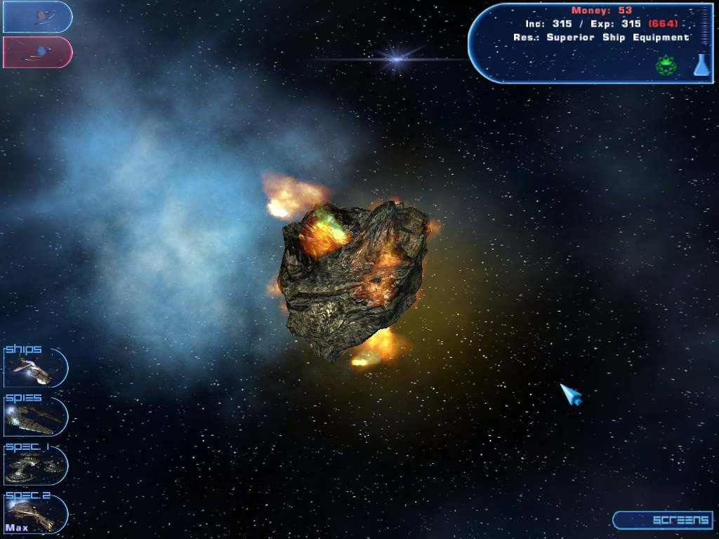 flaming asteroid hitting the earth - photo #14