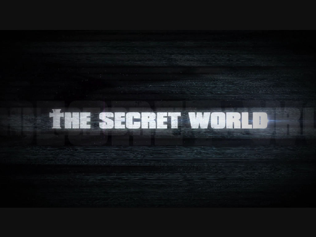 The Secret World Windows Title in the introduction sequence