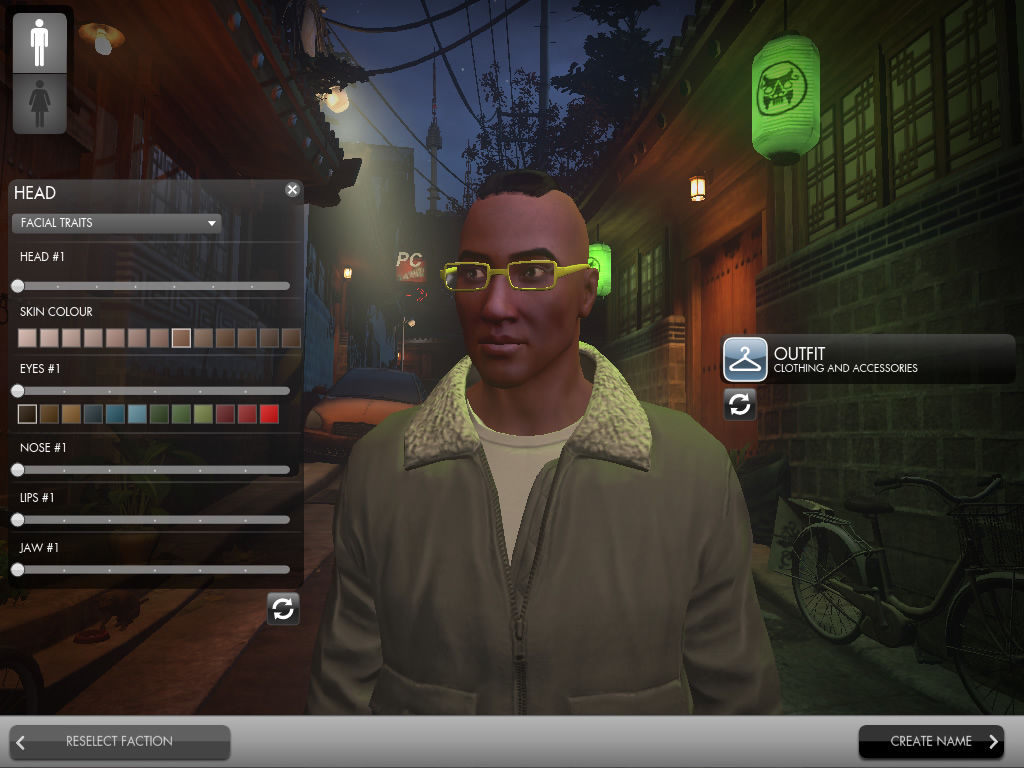The Secret World Windows Character creation