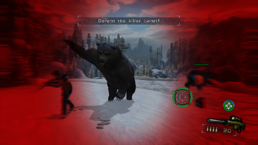 Cabela's Survival: Shadows of Katmai Wii These bears hit hard