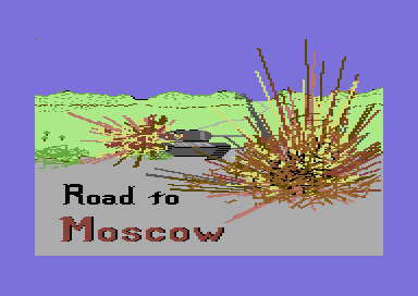 Road to Moscow Commodore 64 Loading screen (Version 2.0)