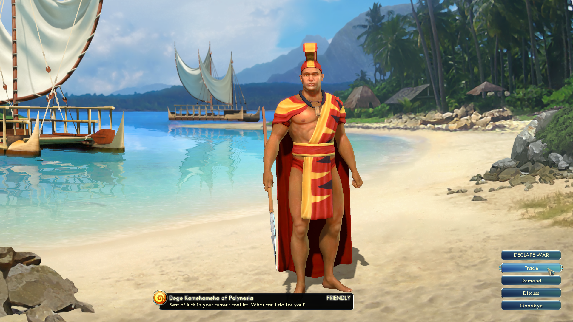 Sid Meier's Civilization V: Civilization and Scenario Pack - Polynesia Windows Doge Kamehameha of Polynesia
