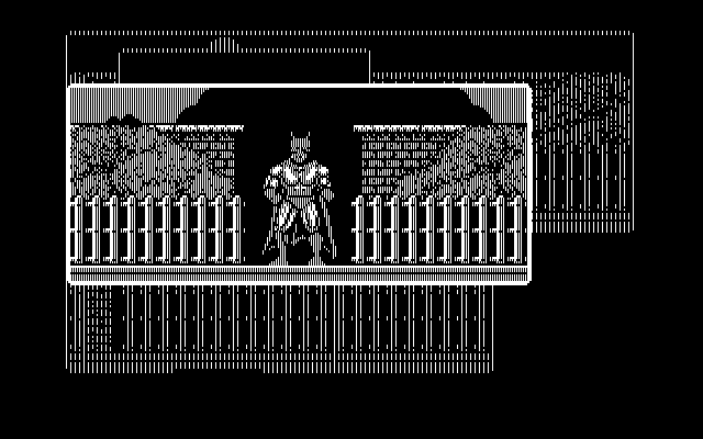 Batman: The Caped Crusader DOS New locations open up a new panel (CGA)
