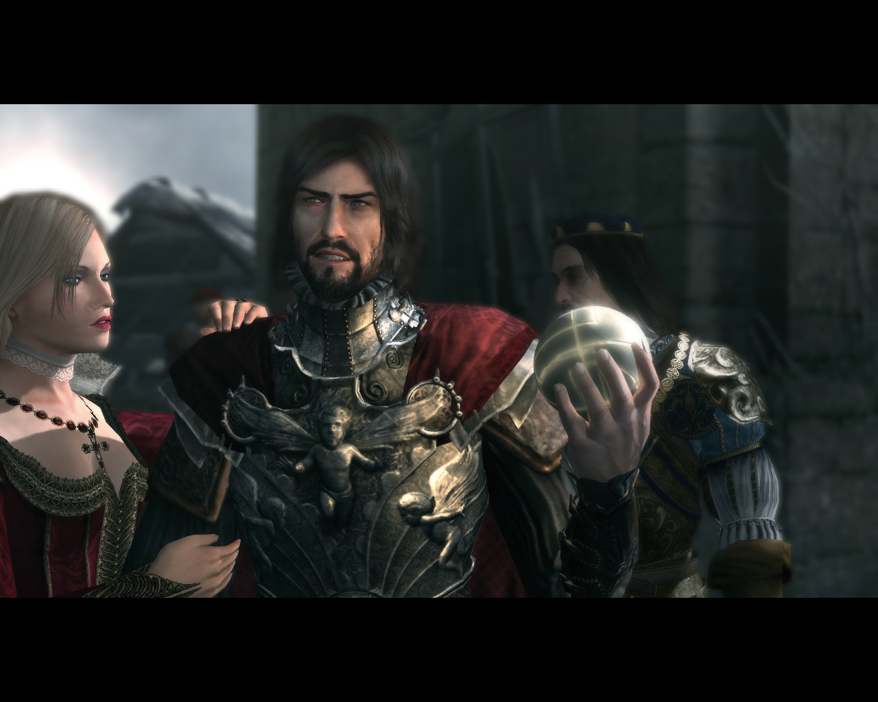 Assassin's Creed: Brotherhood Windows Lucrezia and Cesare Borgia