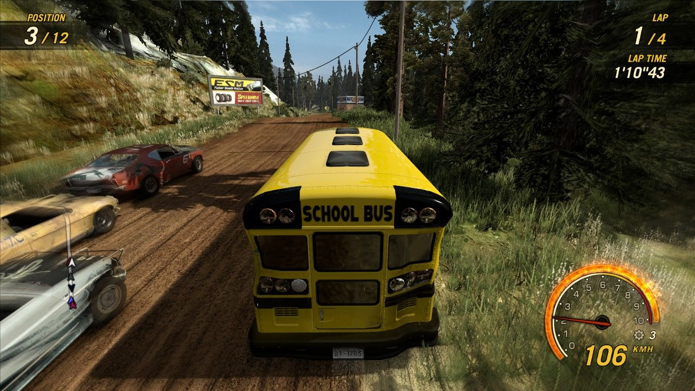 FlatOut: Ultimate Carnage Windows Late to school?