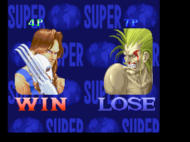 Super Street Fighter II FM Towns You are winner?..