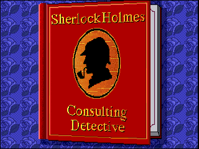 Sherlock Holmes: Consulting Detective FM Towns Intro: the book opens...