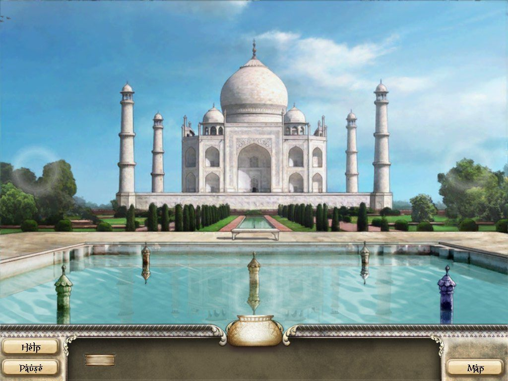 Romancing the Seven Wonders: Taj Mahal iPad Celestial Pool