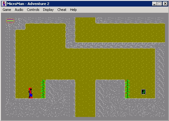 The Adventures of MicroMan Windows Adventure 2: game play, just stating.