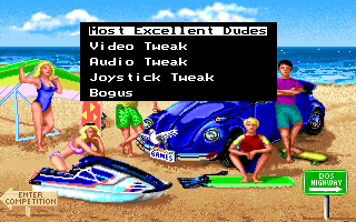 California Games II DOS Main menu 2 (VGA)