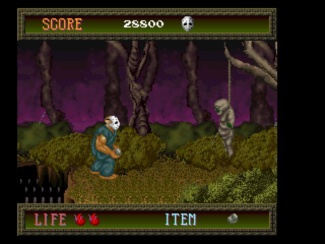 Splatterhouse FM Towns Dude... just hang in there