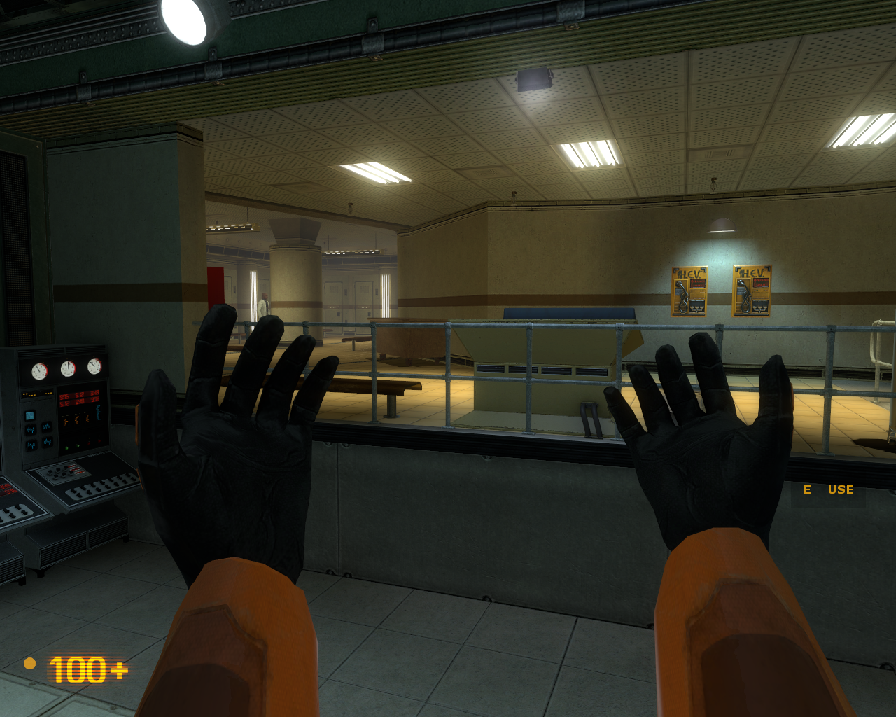 Black Mesa Windows Got my HEV suit