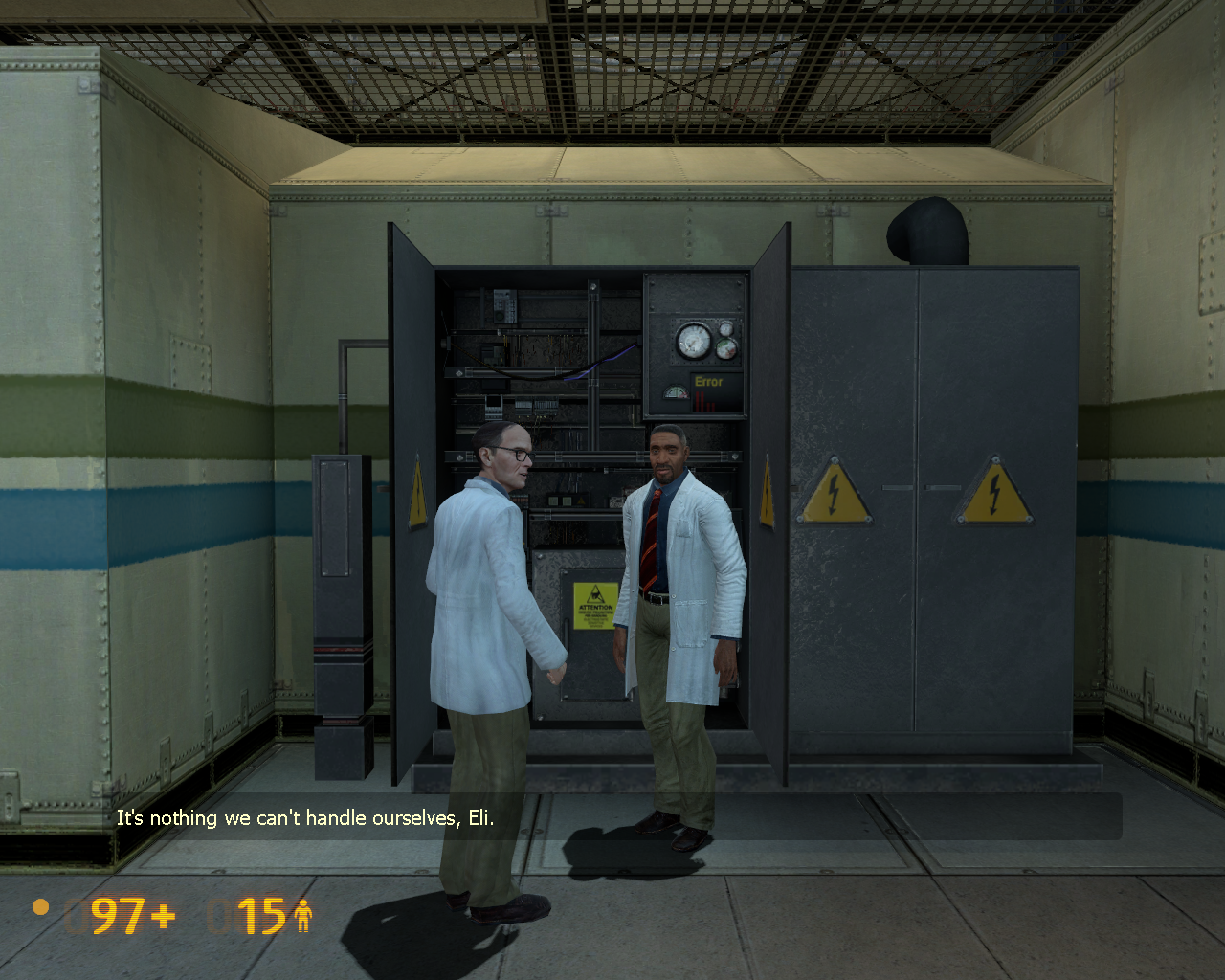 Black Mesa Windows Dr. Kleiner & Dr. Vance