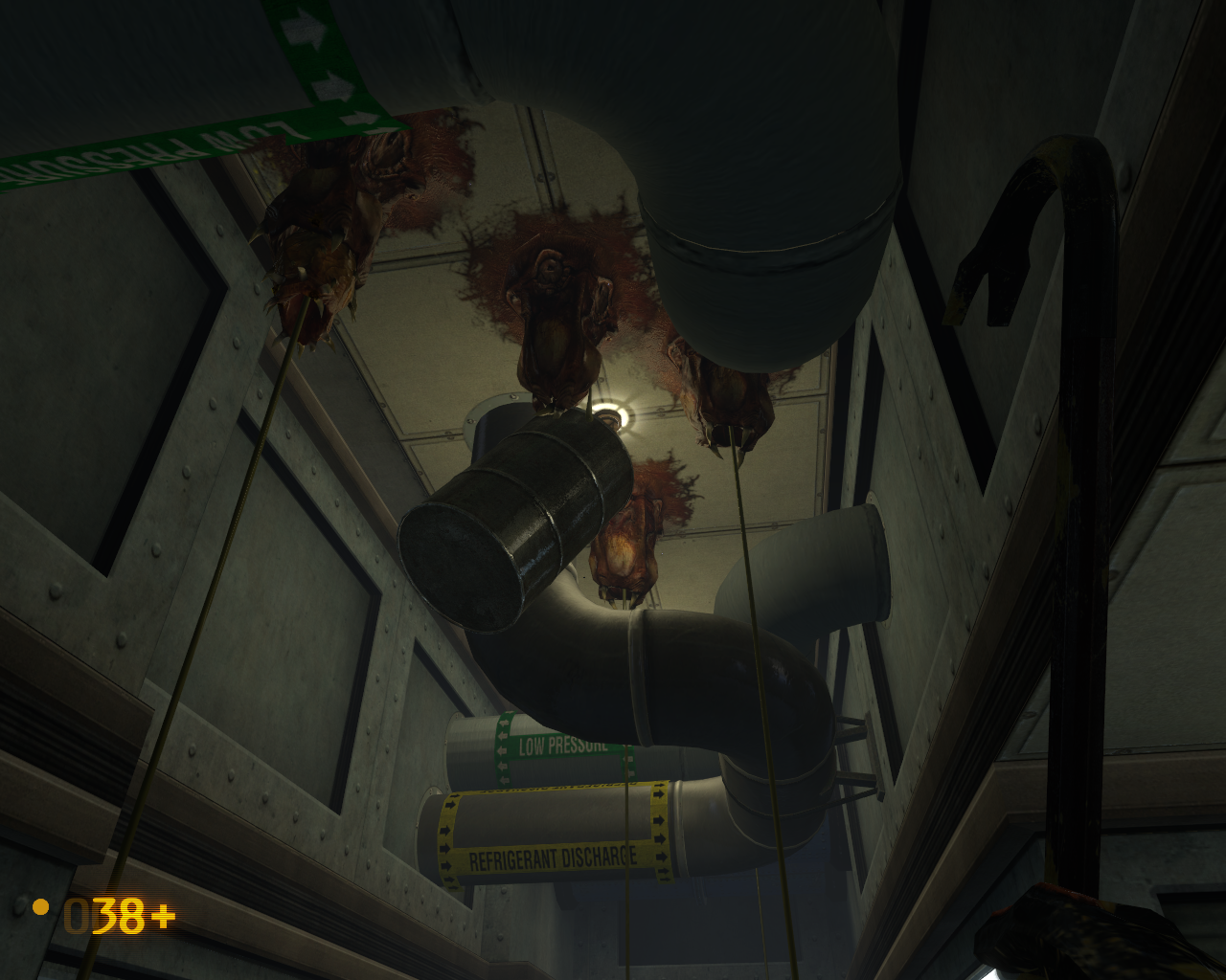 Black Mesa Windows Feeding Barnacles with drums and other stuff is all you can do before you get a gun