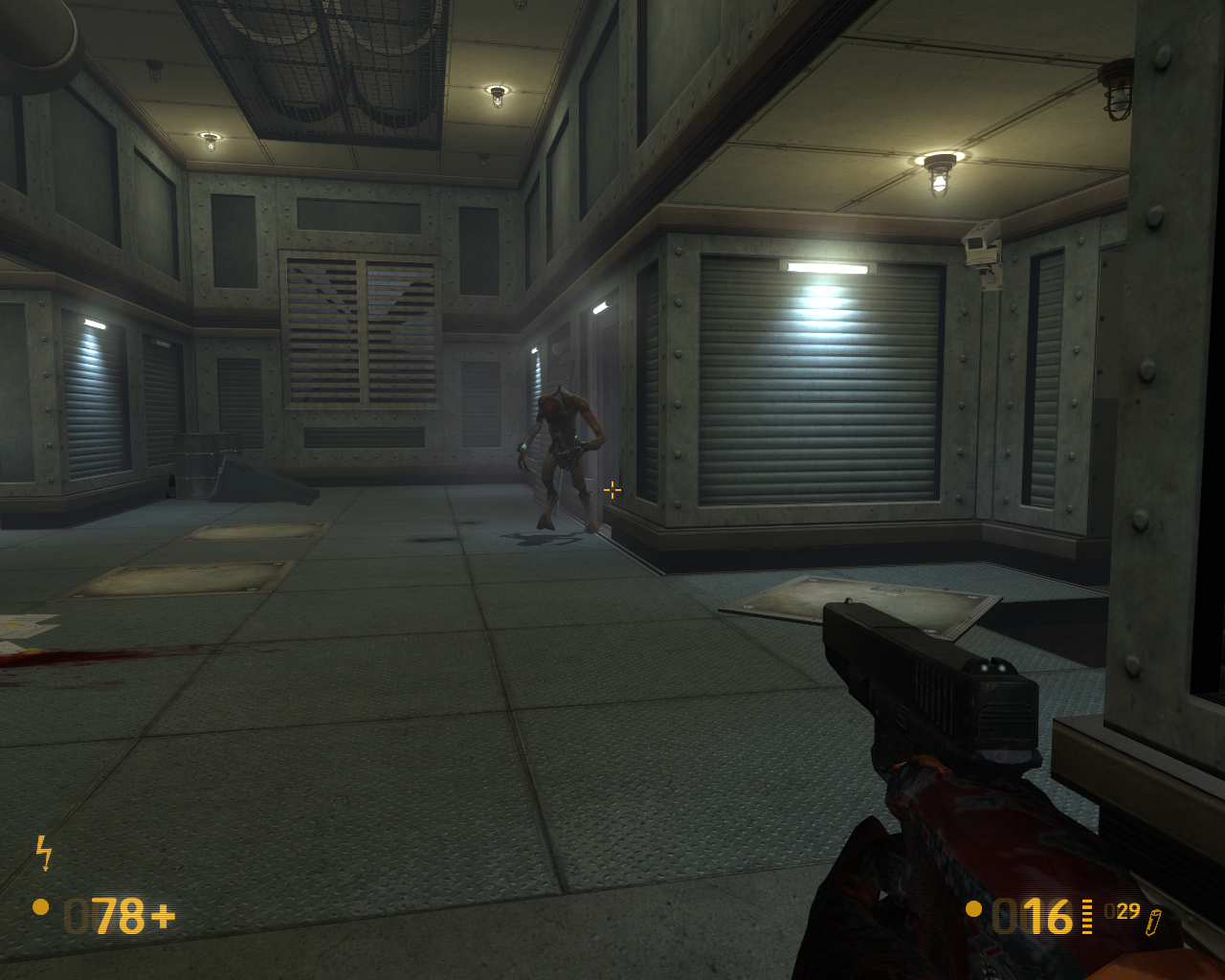 Black Mesa Windows And finally we get a gun