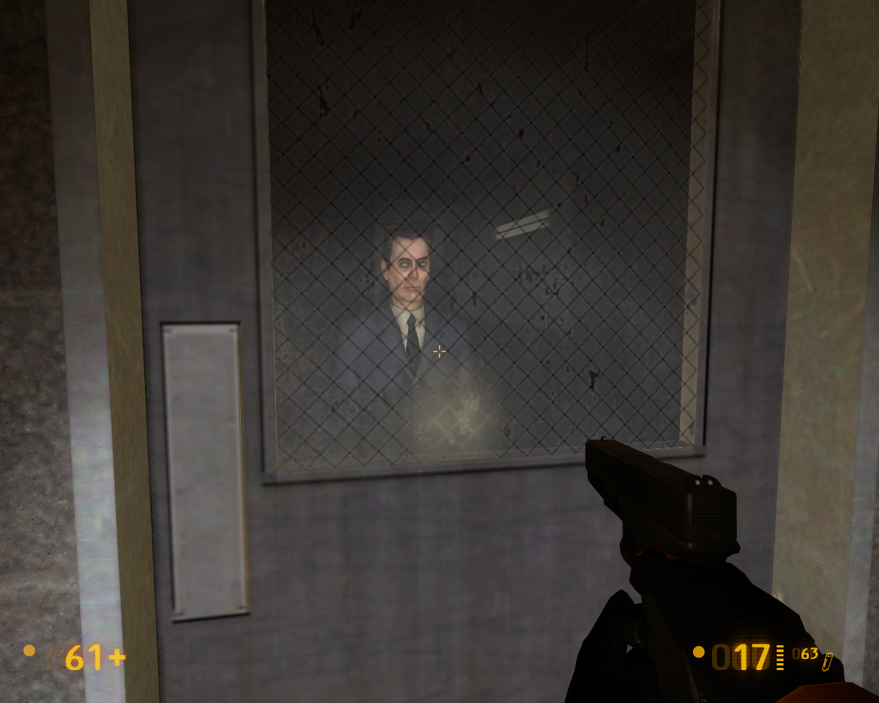 Black Mesa Windows G-Man
