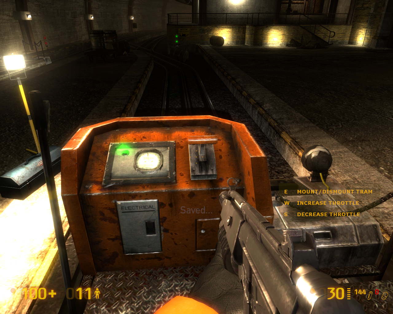 Black Mesa Windows On rails