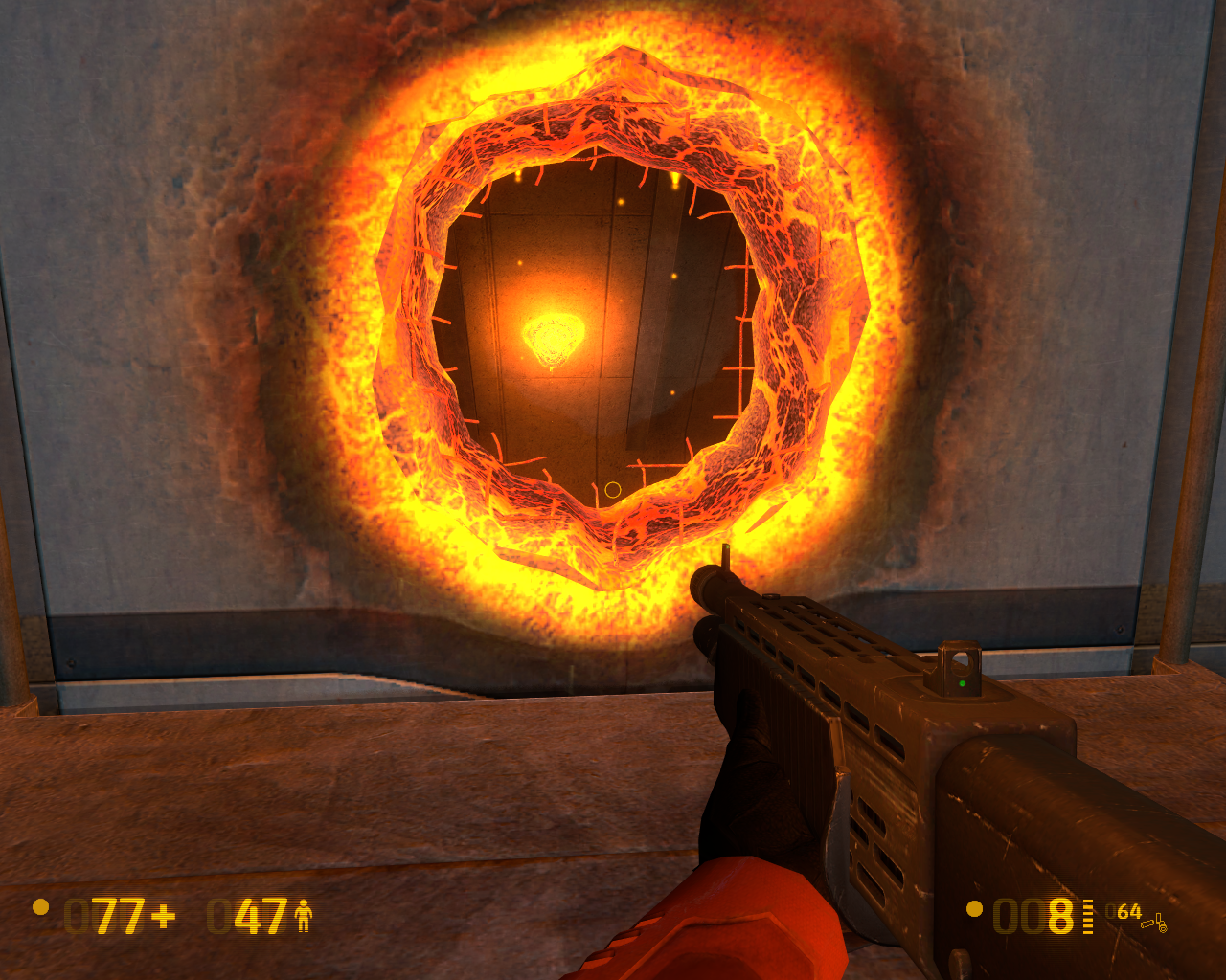 Black Mesa Windows The special effects on this hole are really neat