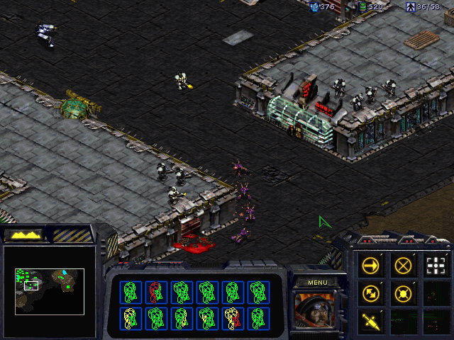 "StarCraft (Demo Version) Windows The first encounter with the ""xenomorphs""."
