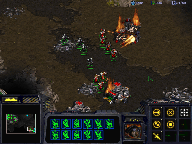 StarCraft (Demo Version) Windows Fresh forces mop up the rest of the rebel base.
