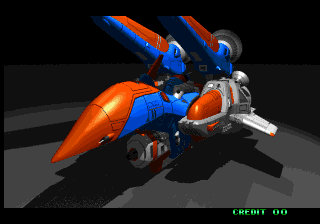 Blazing Star Neo Geo One of the ships. Also, from the intro.