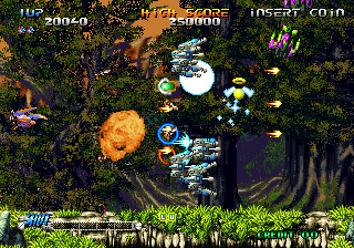 Blazing Star Neo Geo The graphics are great, the action is fast. Everything goes boom.