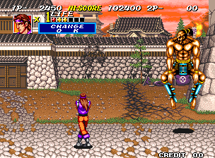 Sengoku 2 Neo Geo Nice dance moves there, buddy.