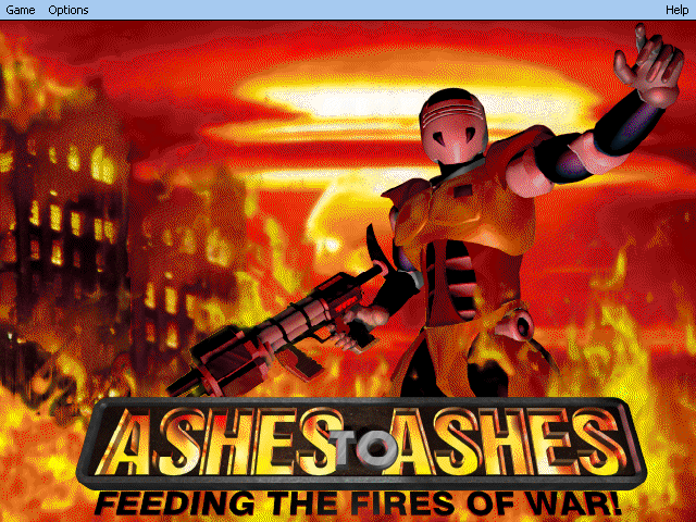 Ashes to Ashes Windows Main Menu
