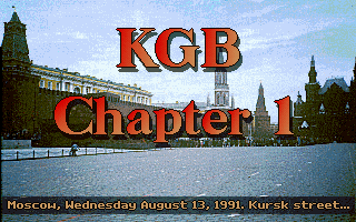 KGB DOS Chapter 1 - Moscow